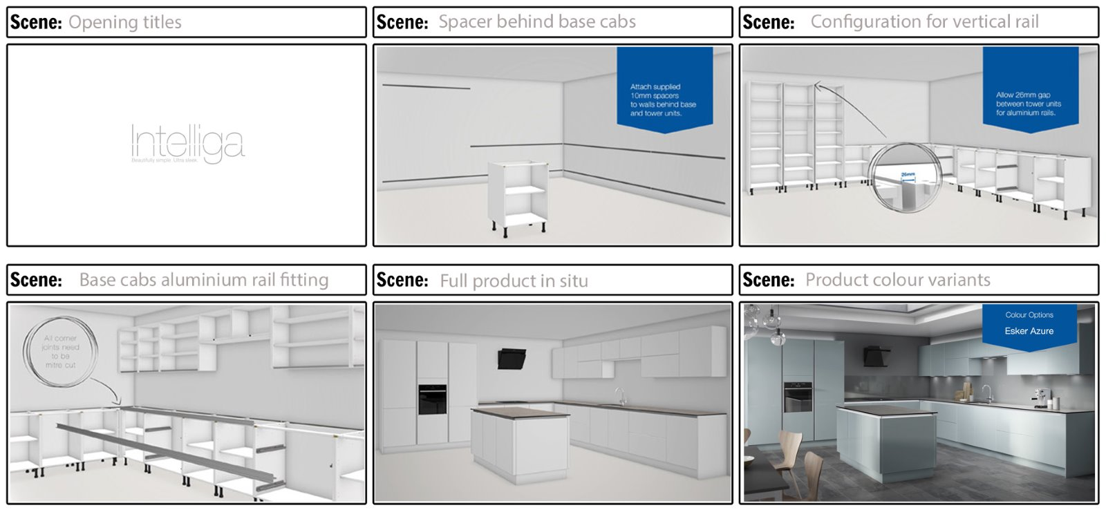 cgi animation kitchen fitting instructions