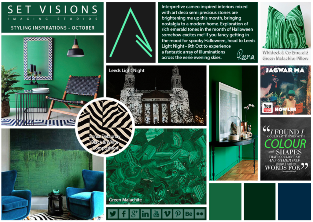 Set Visions Styling Inspirations October Newsletter